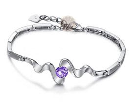 Vogue Crafts and Designs Pvt. Ltd. manufactures Designer Silver Bracelet Bangle at wholesale price.