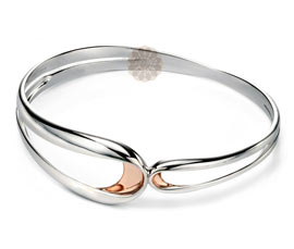Vogue Crafts and Designs Pvt. Ltd. manufactures Classic Silver Bangle at wholesale price.