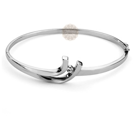 Vogue Crafts and Designs Pvt. Ltd. manufactures Designer Silver Bangle at wholesale price.