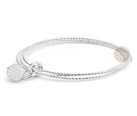 Vogue Crafts and Designs Pvt. Ltd. manufactures Sterling Silver Triple Bangle at wholesale price.