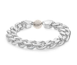 Vogue Crafts and Designs Pvt. Ltd. manufactures Fancy Silver Bracelet at wholesale price.