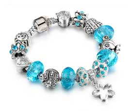 Vogue Crafts and Designs Pvt. Ltd. manufactures Vintage Silver Bracelet at wholesale price.