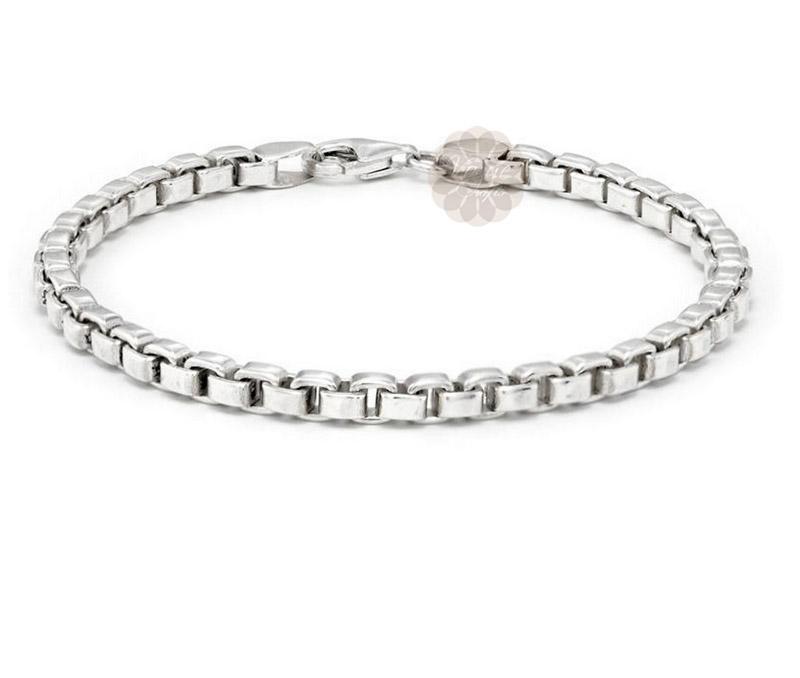 Vogue Crafts & Designs Pvt. Ltd. manufactures Sterling Silver Link Bracelet at wholesale price.