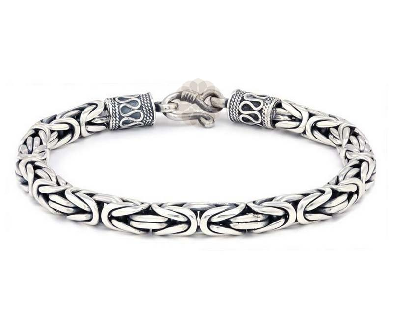 Vogue Crafts & Designs Pvt. Ltd. manufactures Designer Silver Link Bracelet at wholesale price.