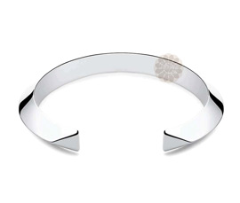 Vogue Crafts and Designs Pvt. Ltd. manufactures Sterling Silver Bell Cuff at wholesale price.