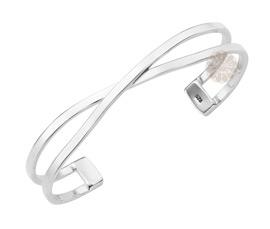 Vogue Crafts and Designs Pvt. Ltd. manufactures Crossover Silver Cuff at wholesale price.