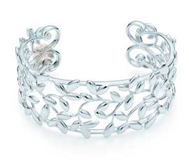 Vogue Crafts and Designs Pvt. Ltd. manufactures Olive Leaf Silver Cuff at wholesale price.