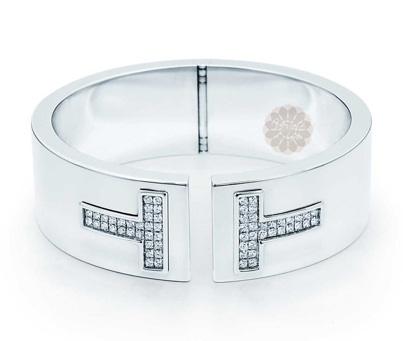 Vogue Crafts & Designs Pvt. Ltd. manufactures Cut Out T Silver Cuff at wholesale price.