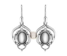 Vogue Crafts and Designs Pvt. Ltd. manufactures Traditional Silver Earrings at wholesale price.