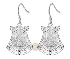 Vogue Crafts and Designs Pvt. Ltd. manufactures Designer Silver Earrings at wholesale price.