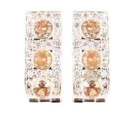 Vogue Crafts and Designs Pvt. Ltd. manufactures Classic Silver Earrings at wholesale price.