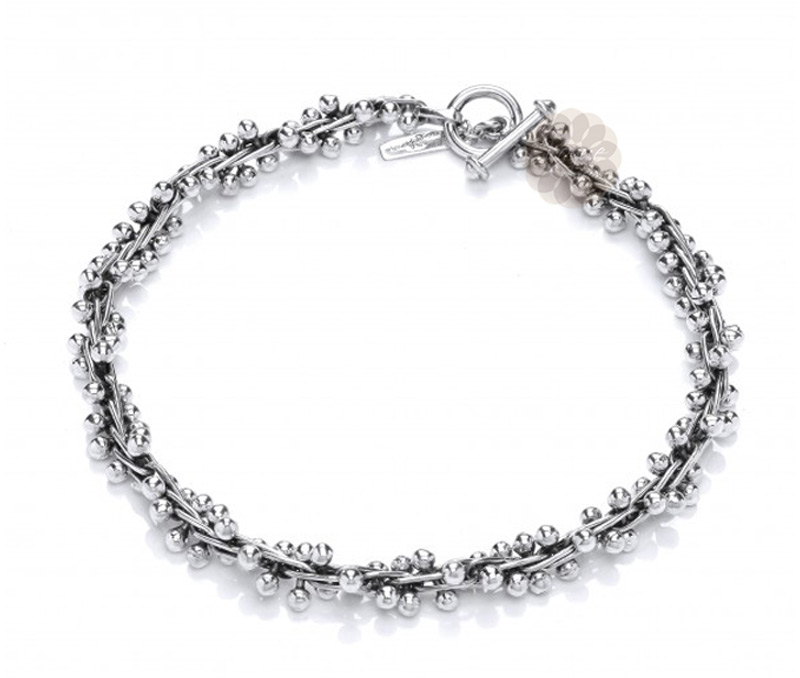 Vogue Crafts & Designs Pvt. Ltd. manufactures Silver Ball Necklace at wholesale price.