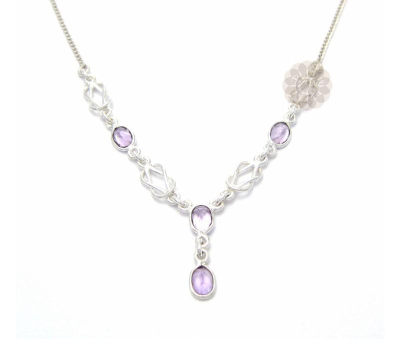 Vogue Crafts & Designs Pvt. Ltd. manufactures Designer Sterling Silver Necklace at wholesale price.