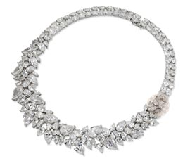 Vogue Crafts and Designs Pvt. Ltd. manufactures Fancy Sterling Silver Choker Necklace at wholesale price.