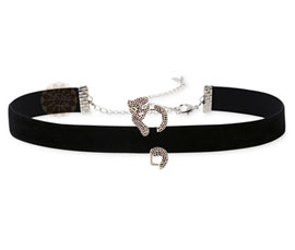 Vogue Crafts and Designs Pvt. Ltd. manufactures Black Panther Silver Choker Necklace at wholesale price.