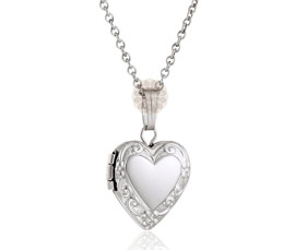 Vogue Crafts and Designs Pvt. Ltd. manufactures Designer Heart Silver Pendant at wholesale price.