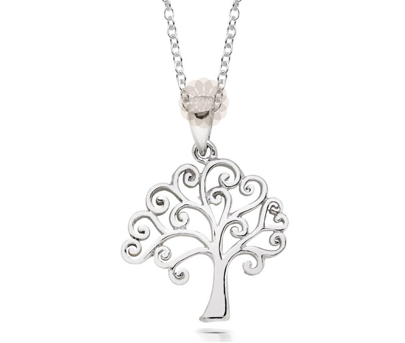 Vogue Crafts & Designs Pvt. Ltd. manufactures Silver Tree Pendant at wholesale price.
