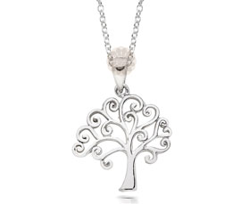Vogue Crafts and Designs Pvt. Ltd. manufactures Silver Tree Pendant at wholesale price.