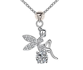 Vogue Crafts and Designs Pvt. Ltd. manufactures Angel Silver Pendant at wholesale price.
