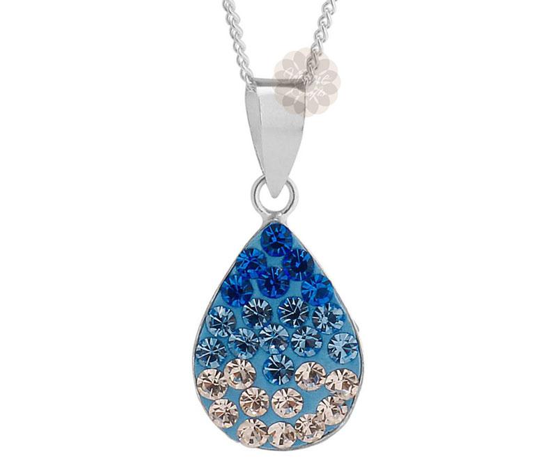 Vogue Crafts & Designs Pvt. Ltd. manufactures Designer Teardrop Silver Pendant at wholesale price.
