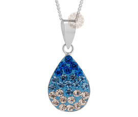 Vogue Crafts and Designs Pvt. Ltd. manufactures Designer Teardrop Silver Pendant at wholesale price.