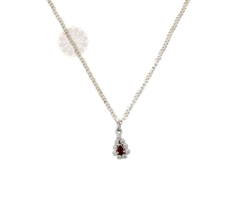 Vogue Crafts & Designs Pvt. Ltd. manufactures Teardrop Silver Pendant at wholesale price.