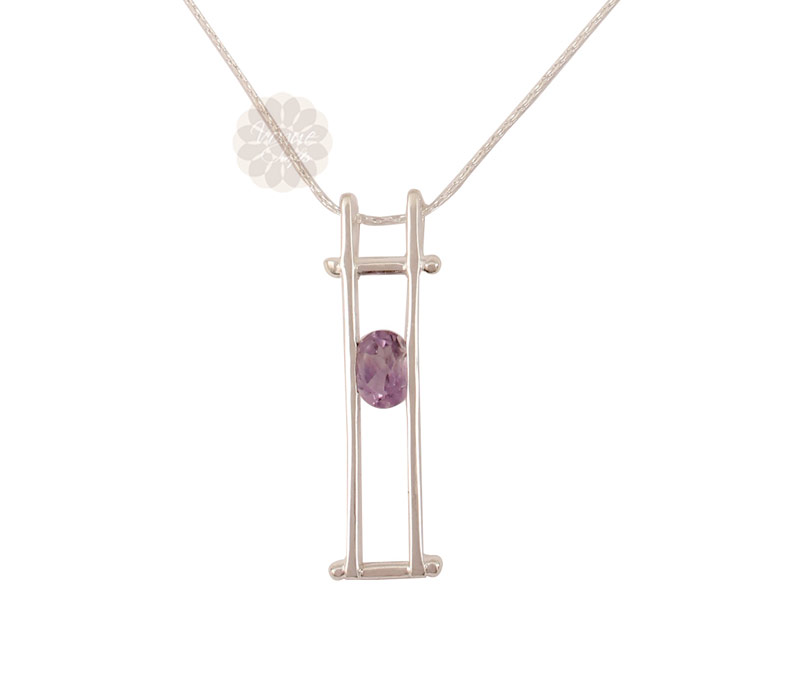 Vogue Crafts & Designs Pvt. Ltd. manufactures Sterling Silver Rectangular Pendant at wholesale price.