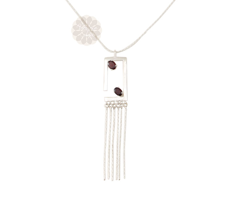 Vogue Crafts & Designs Pvt. Ltd. manufactures Rectangular Silver Pendant at wholesale price.