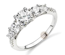 Vogue Crafts and Designs Pvt. Ltd. manufactures Stone Studded Silver Ring at wholesale price.