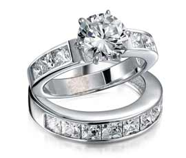 Vogue Crafts and Designs Pvt. Ltd. manufactures Designer Silver Stack Ring at wholesale price.