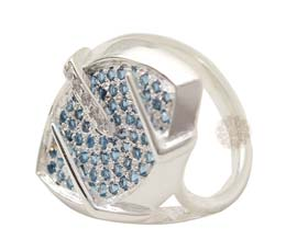 Vogue Crafts and Designs Pvt. Ltd. manufactures Silver Leaf Ring at wholesale price.