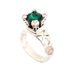 Vogue Crafts and Designs Pvt. Ltd. manufactures Fancy Silver Ring at wholesale price.