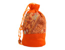Orange Potli Bag, beautifully handcrafted at affordable rates.