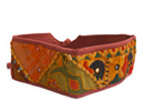 Gaudy and vibrant handmade belt manufactured at reasonable prices.