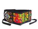 Floral Embroidery Belt with a touch of black manufactured and supplied at reasonable prices.