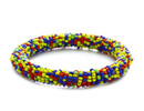 Manufactures, exports and supplies Colorful Bead Bracelets at wholesale price.